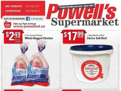Powell's Supermarket Flyer Thumbnail