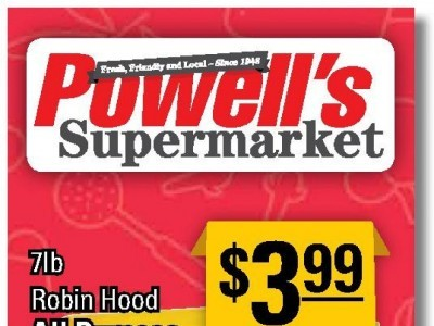 Powell's Supermarket Flyer Thumbnail
