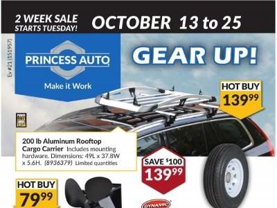 Princess Auto Flyer Thumbnail
