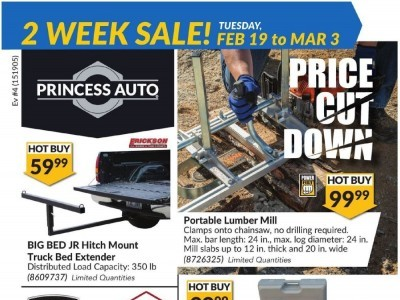 Princess Auto Outdated Flyer Thumbnail