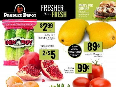 Produce Depot Outdated Flyer Thumbnail