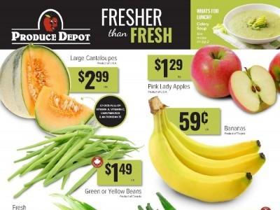 Produce Depot Flyer Thumbnail