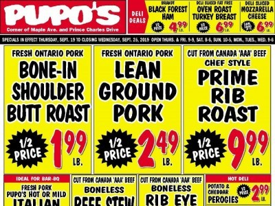 Pupo's Food Market Outdated Flyer Thumbnail