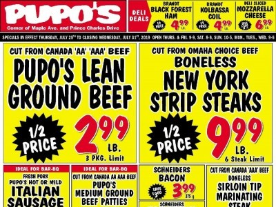 Pupo's Food Market Flyers, Weekly ads in Canada | Shopping Canada