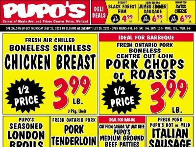 Pupo's Food Market Flyer Thumbnail
