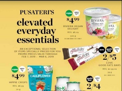 Pusateri's Fine Foods Outdated Flyer Thumbnail