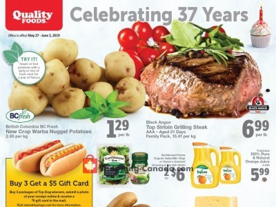 Quality Foods Outdated Flyer Thumbnail