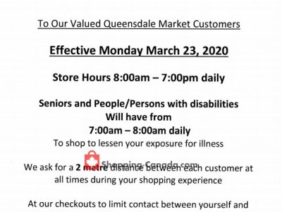 Queensdale Market Flyer Thumbnail