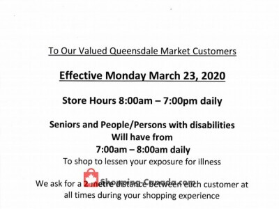 Queensdale Market Flyer Thumbnail