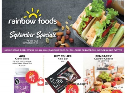 Rainbow Foods Flyer Thumbnail