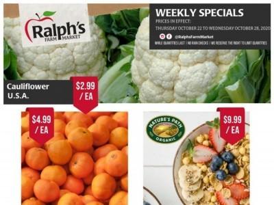 Ralph's Farm Market Flyer Thumbnail
