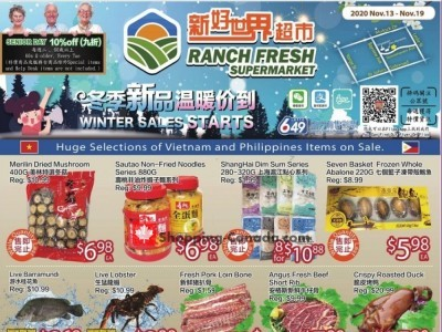 Ranch Fresh Supermarket Outdated Flyer Thumbnail
