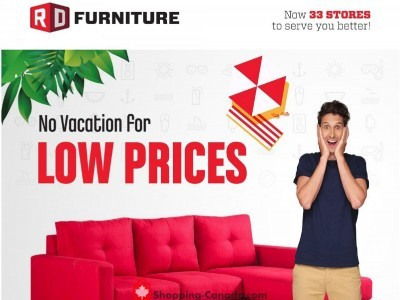 RD Furniture Outdated Flyer Thumbnail
