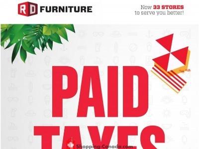 RD Furniture Flyer Thumbnail