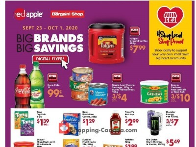 Red Apple Stores Flyer Thumbnail