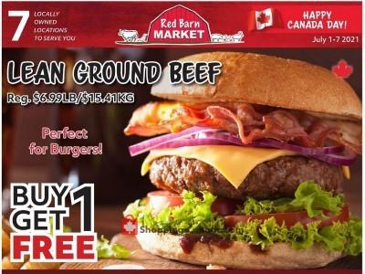 Red Barn Market Flyer Thumbnail