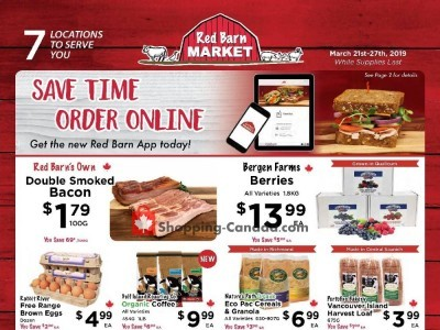 Red Barn Market Flyers, Weekly ads in Canada | Shopping Canada
