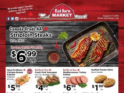 Red Barn Market Outdated Flyer Thumbnail
