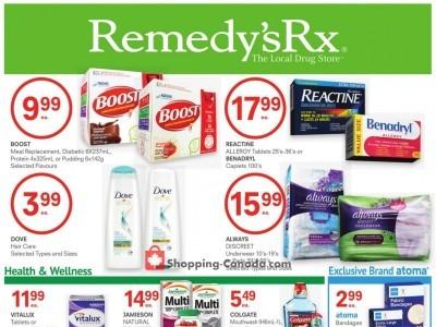 Remedy's RX Flyer Thumbnail
