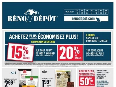 Réno Dépôt Flyer Thumbnail
