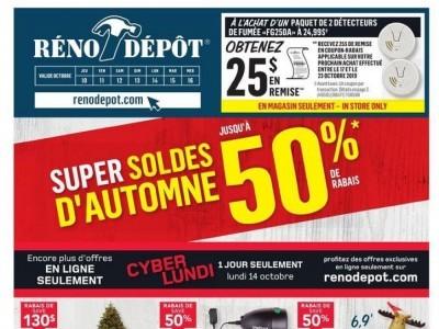 Réno Dépôt Outdated Flyer Thumbnail