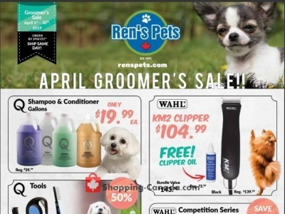 Ren's Pets Depot Outdated Flyer Thumbnail
