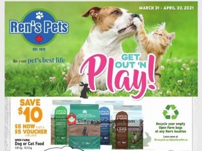 Ren's Pets Depot Flyer Thumbnail