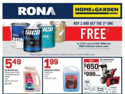Rona Outdated Flyer Thumbnail