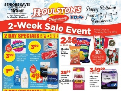 Roulston's Pharmacy Flyer Thumbnail