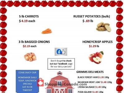 Russell Farm Market Flyer Thumbnail