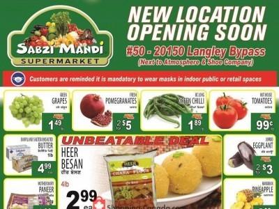 Sabzi Mandi Supermarket Outdated Flyer Thumbnail