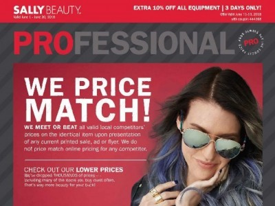 Sally Beauty Outdated Flyer Thumbnail