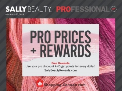 Sally Beauty Flyer Thumbnail