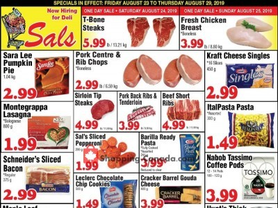 Sal's Grocery Outdated Flyer Thumbnail