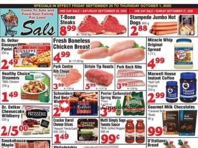 Sal's Grocery Flyer Thumbnail
