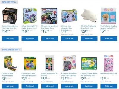 Samko and Miko Toy Warehouse Flyer Thumbnail