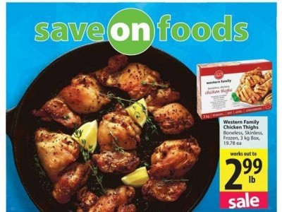 Save On Foods Outdated Flyer Thumbnail