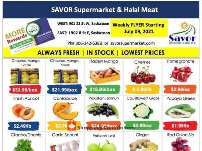 Savor Supermarket Outdated Flyer Thumbnail