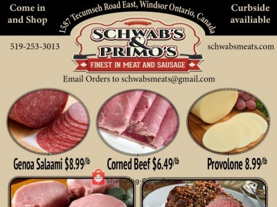 Schwab's & Primo's Flyer Thumbnail