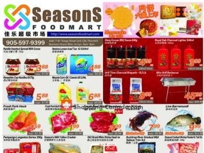 Seasons Food Mart Flyer Thumbnail