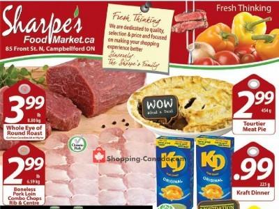 Sharpe's Food Market Flyer Thumbnail