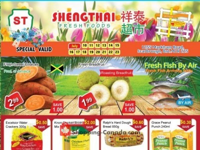 Shengthai Fresh Foods Flyer Thumbnail