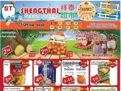 Shengthai Fresh Foods Flyer Thumbnail