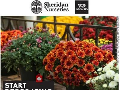 Sheridan Nurseries Flyer Thumbnail