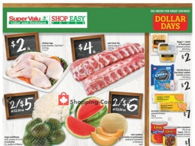 Shop Easy Foods & SuperValu Flyer Thumbnail