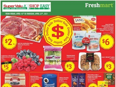 Shop Easy Foods & SuperValu Flyer Thumbnail