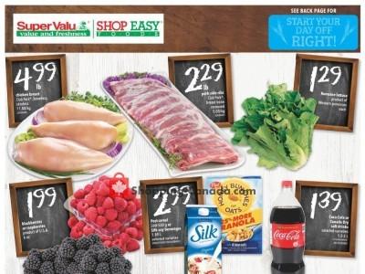 Shop Easy Foods & SuperValu Outdated Flyer Thumbnail