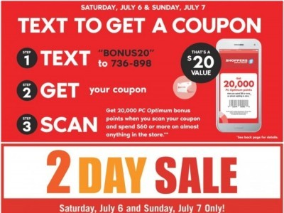 Shoppers Drug Mart Outdated Flyer Thumbnail