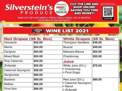Silverstein's Produce Flyer Thumbnail