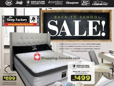 Sleep Factory Flyer Thumbnail